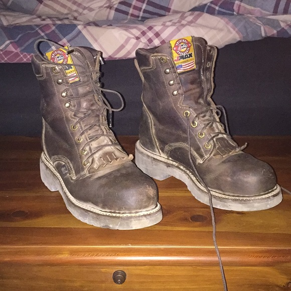 Justin Boots Shoes   Justin Steel Toe